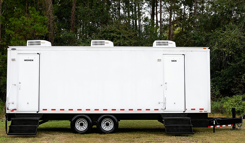 The Benefits of Portable Restroom Trailers First Class Rentals